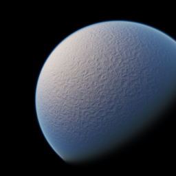 Uranus gast ein bisschen aus