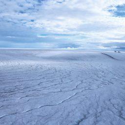 Mars: Flüsse unter Urzeit-Gletschern