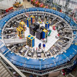 Neue Physik im Speicherring?
